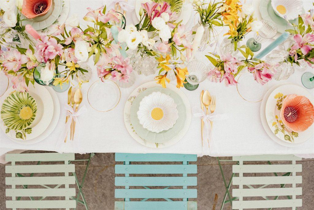 decoración mesas